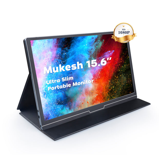 Mukesh 15.6'' 1920×1080 HD Portable Monitor