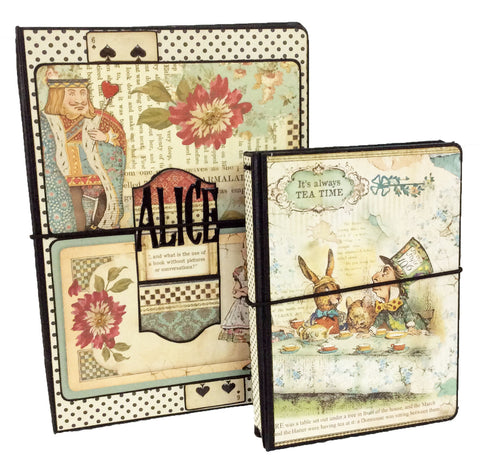 Alice A5 and A6 Notebook Holders My Creative Spirit