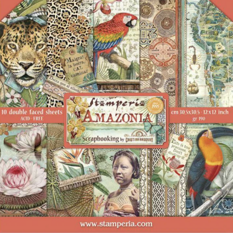 Amazonia by Stamperia