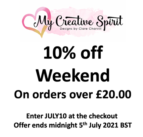 10% off this weekend