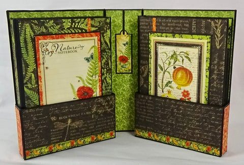 The Matilda Bookcase and Album Set - Nature Notebook Graphic 45