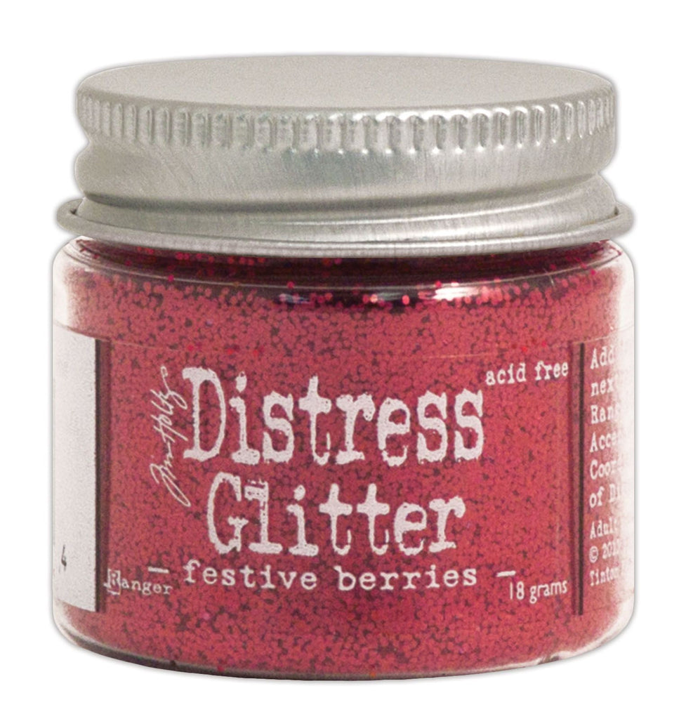 Tim Holtz Distress Glitter - Festive Berries