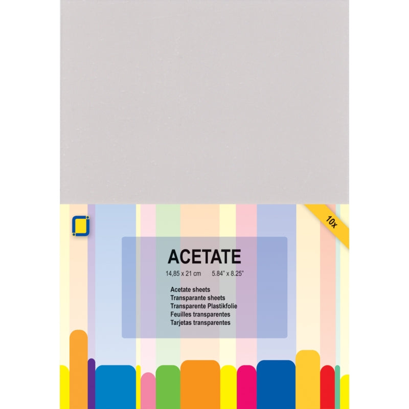 JEJE Acetate Sheets A5 - Pack of 10
