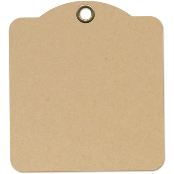 Square Tags Kraft- Graphic 45