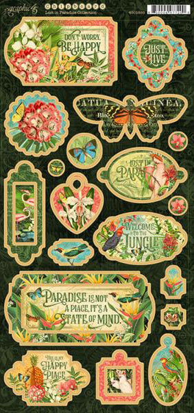 Lost in Paradise Chipboard