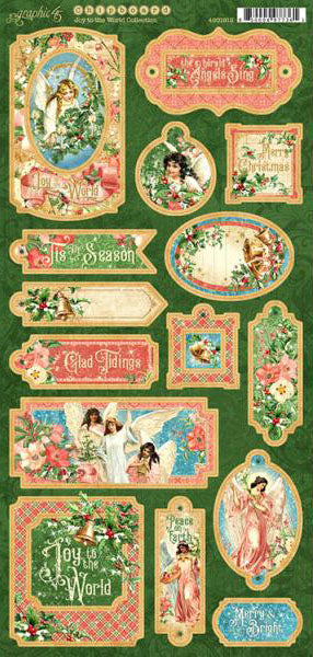 Joy to the World Chipboard