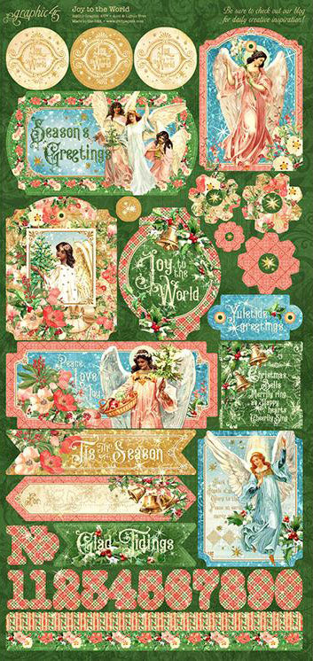 Joy to the World Stickers