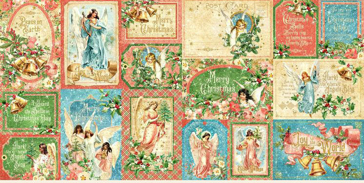 Joy to the World Ephemera/Journaling Cards
