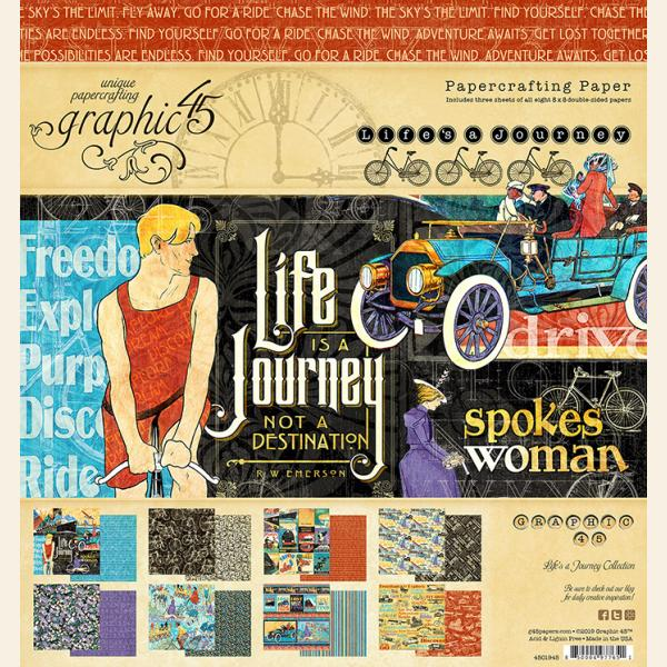 Graphic 45 Life's a Journey Bundle