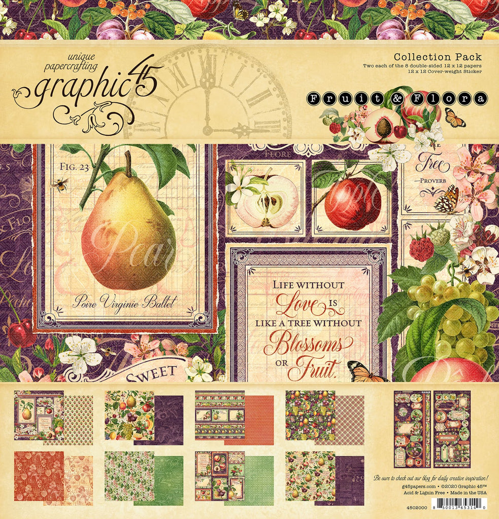 Fruit and Flora 12 x 12 Collection Pack