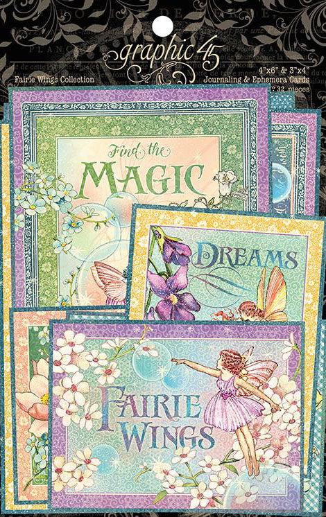 Graphic 45 Fairie Wings Bundle