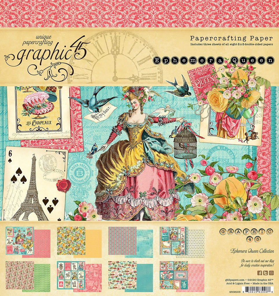 Graphic 45 Ephemera Queen Bundle