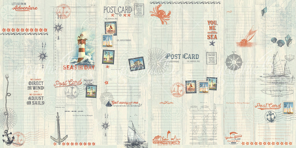 Catch of the Day Ephemera/Journaling Cards