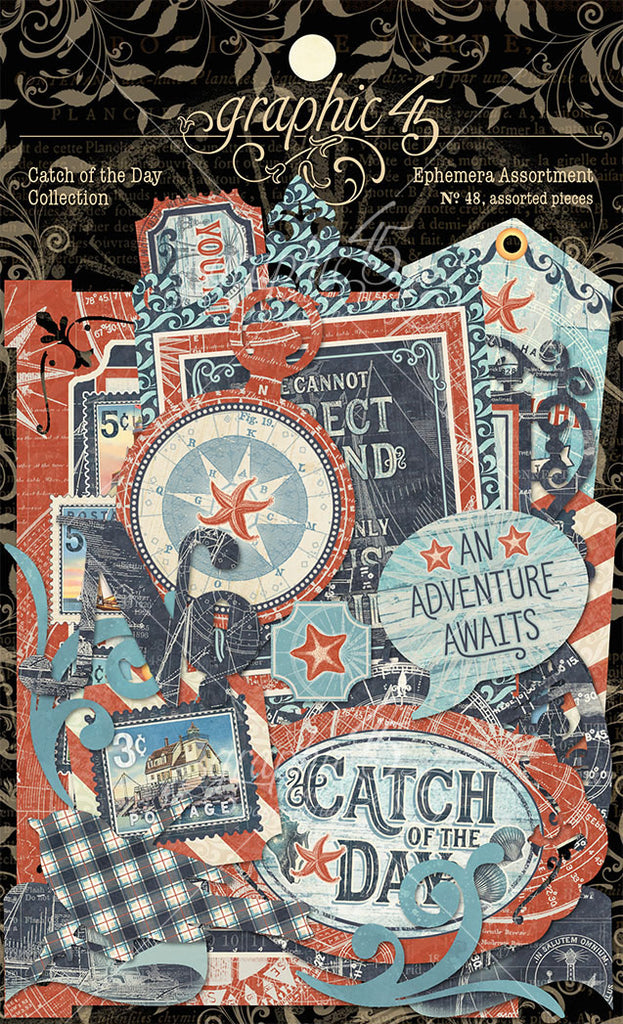 Catch of the Day Die Cut Assortment