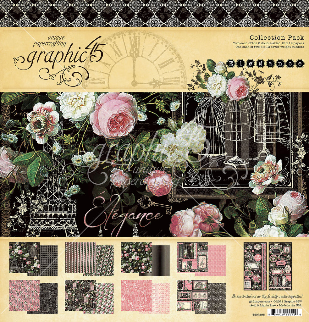 Elegance 12 x 12 Collection Pack