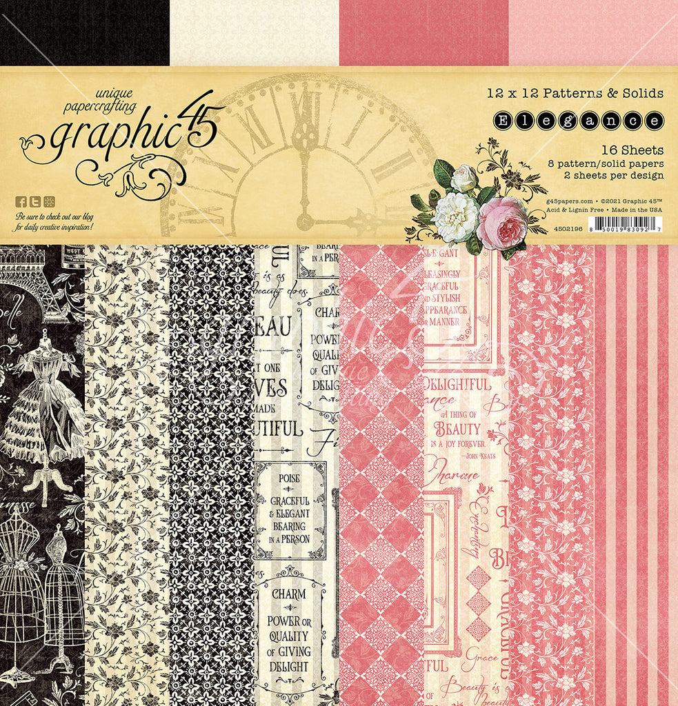 Elegance 12 x 12 Patterns and Solids