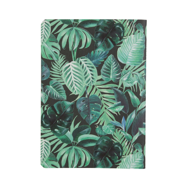 A5 Notebook - Botanical Jungle - Sass and Belle