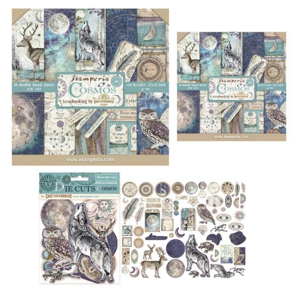 Cosmos Collection Bundle Stamperia