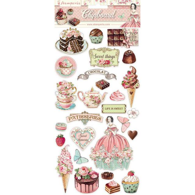 Sweety Chipboard Stamperia