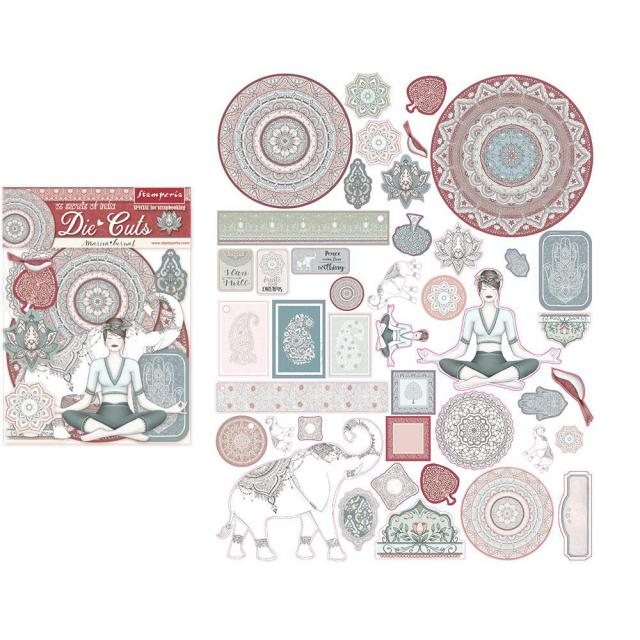 Stamperia Secrets of India Die Cuts