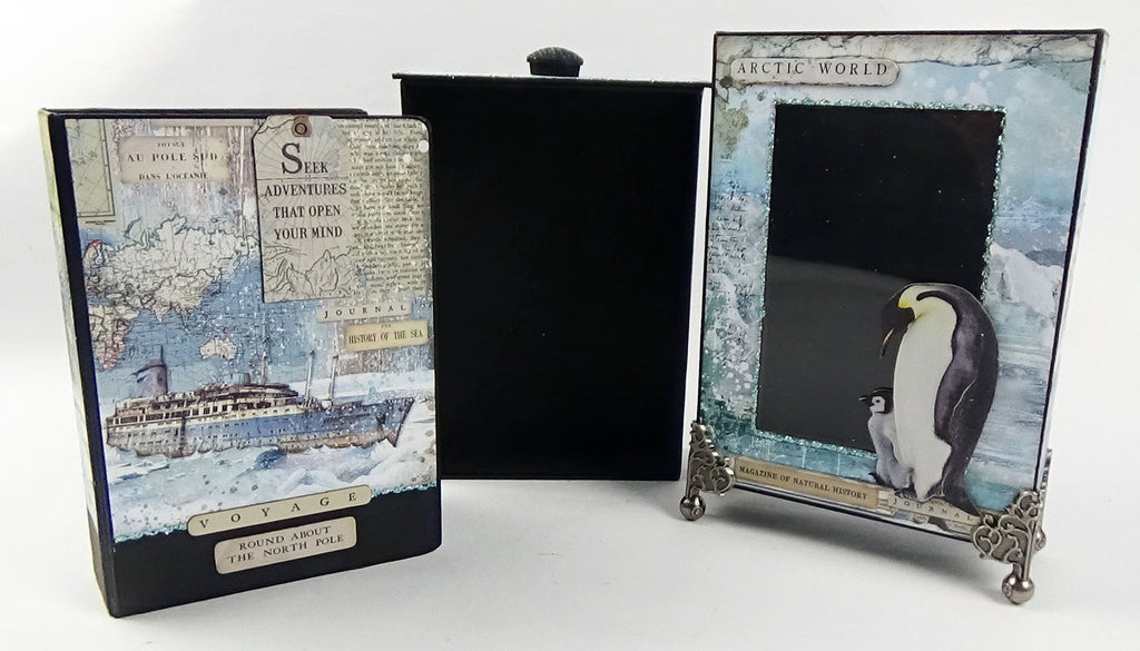 Facebook Live - The Gladstone Box and Mini Book Set Class No. 8