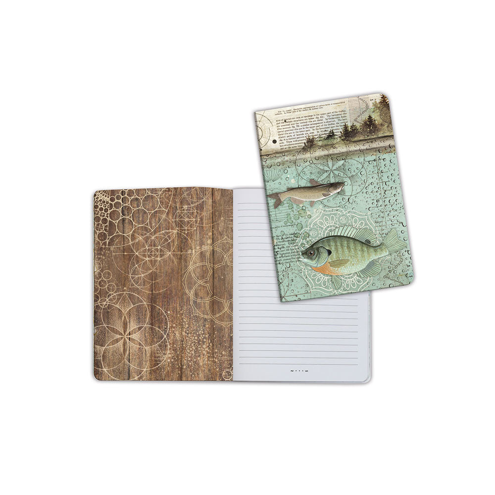 A5 Notebook - Fish - Stamperia