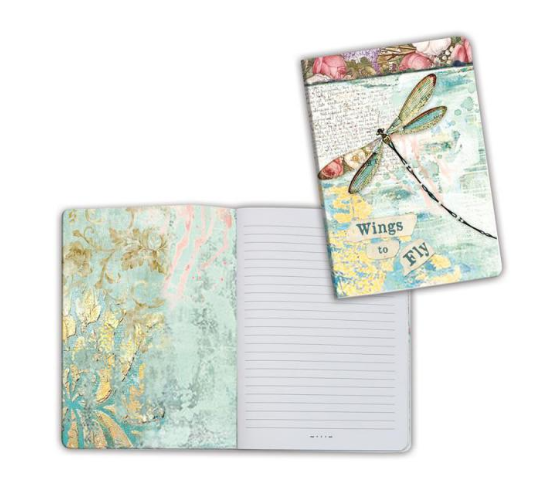 A6 Notebook - Wonderland Dragonfly - Stamperia