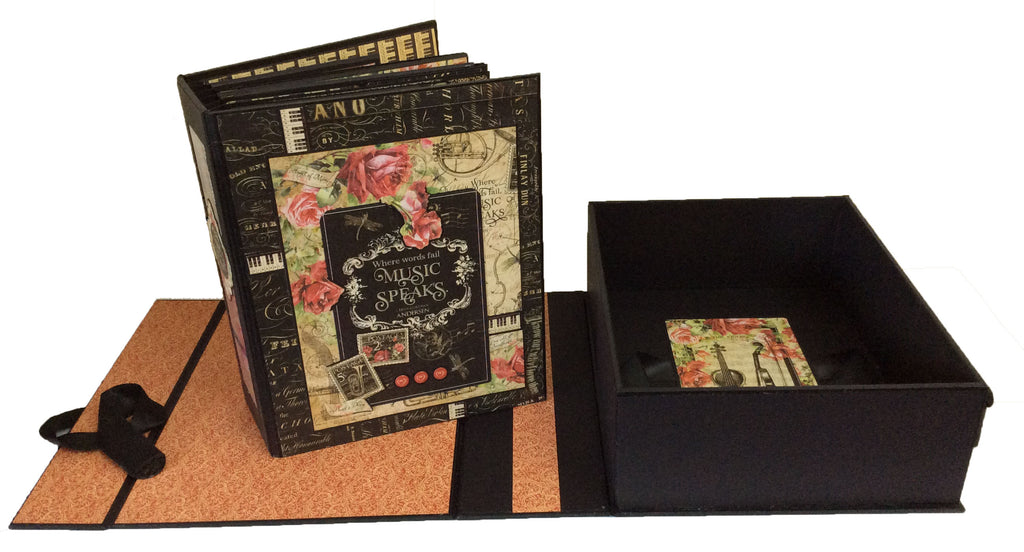 Love Notes Large Event Album PDF Tutorial