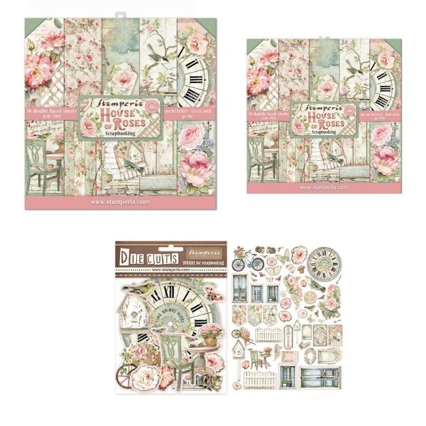 Stamperia House of Roses Collection Bundle