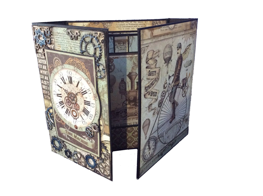 Voyages Fantastiques Book Box and Mini Album Kit