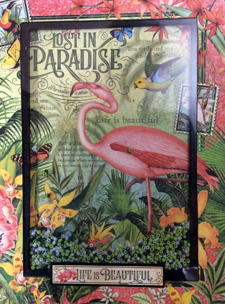 Lost in Paradise Shaker Album Kit