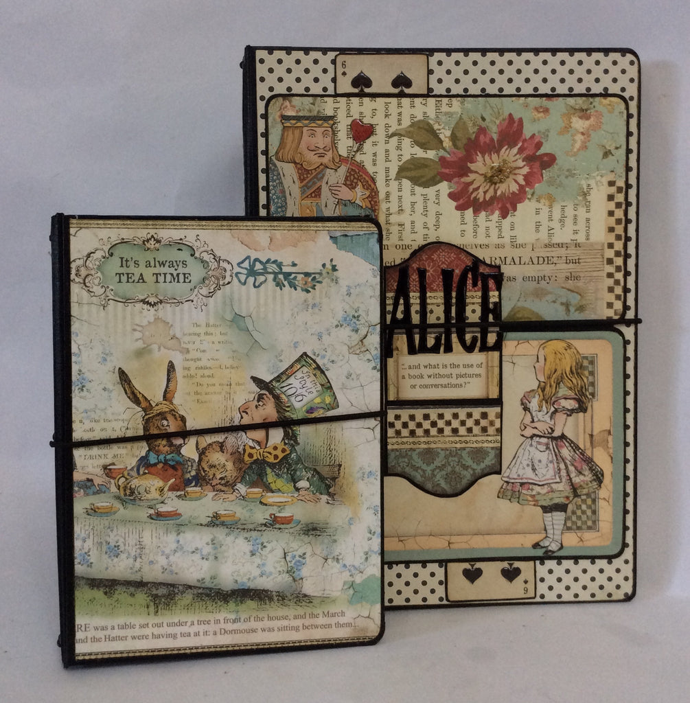 A6 Notebook Holder Bundle - Alice