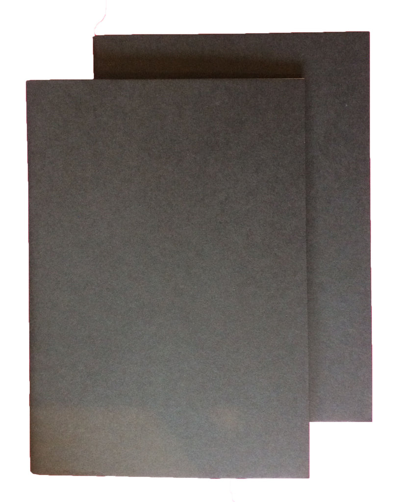 A5 Notebook - Black - Pack of 2