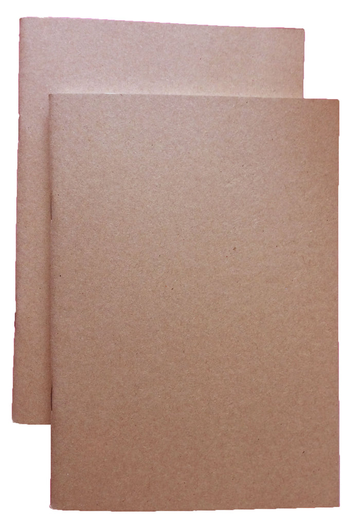 A5 Notebook - Kraft - Pack of 2