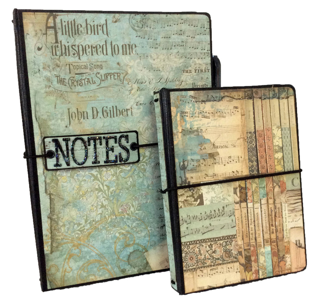 A6 Notebook Holder Bundle - Music