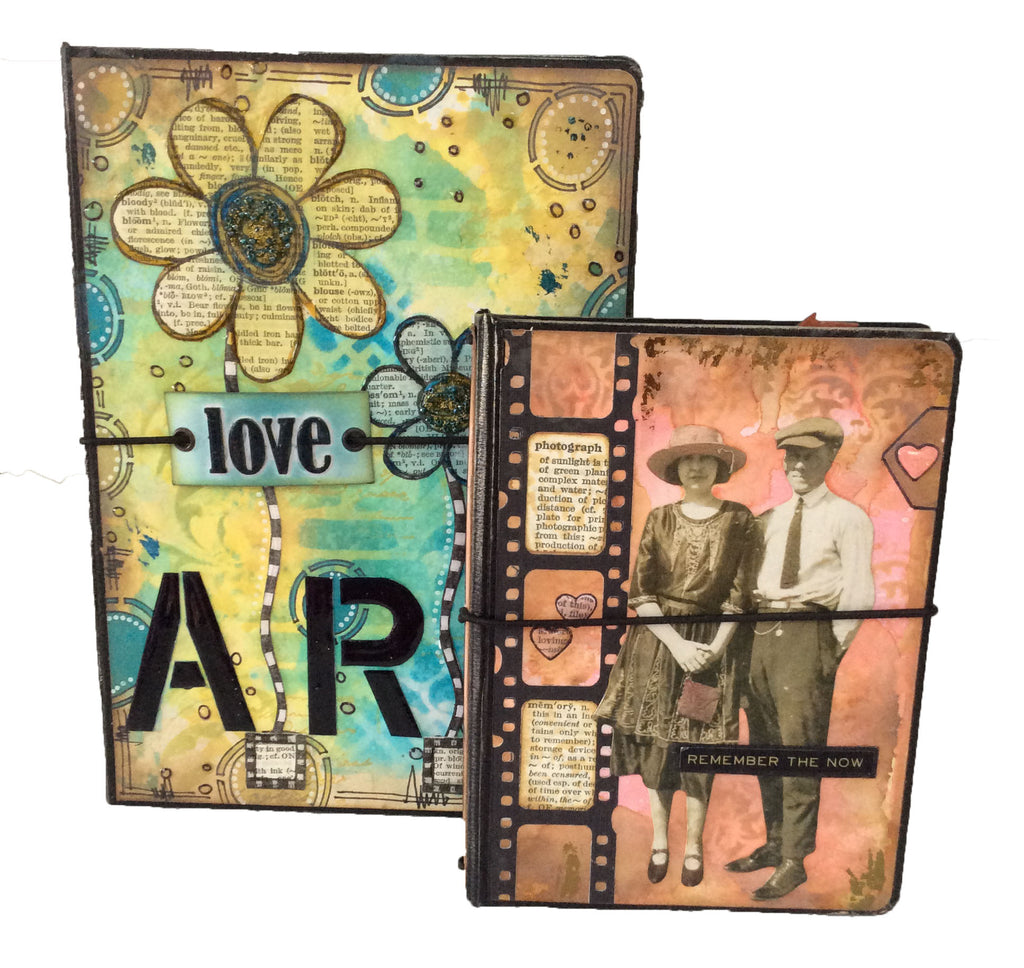 A5 Mixed Media Notebook Holder Bundle - Black