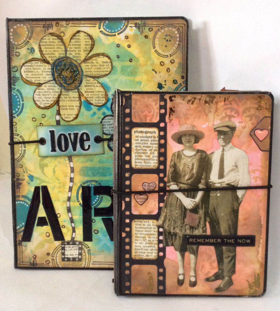 A5 Mixed Media Notebook Holder Bundle - Kraft