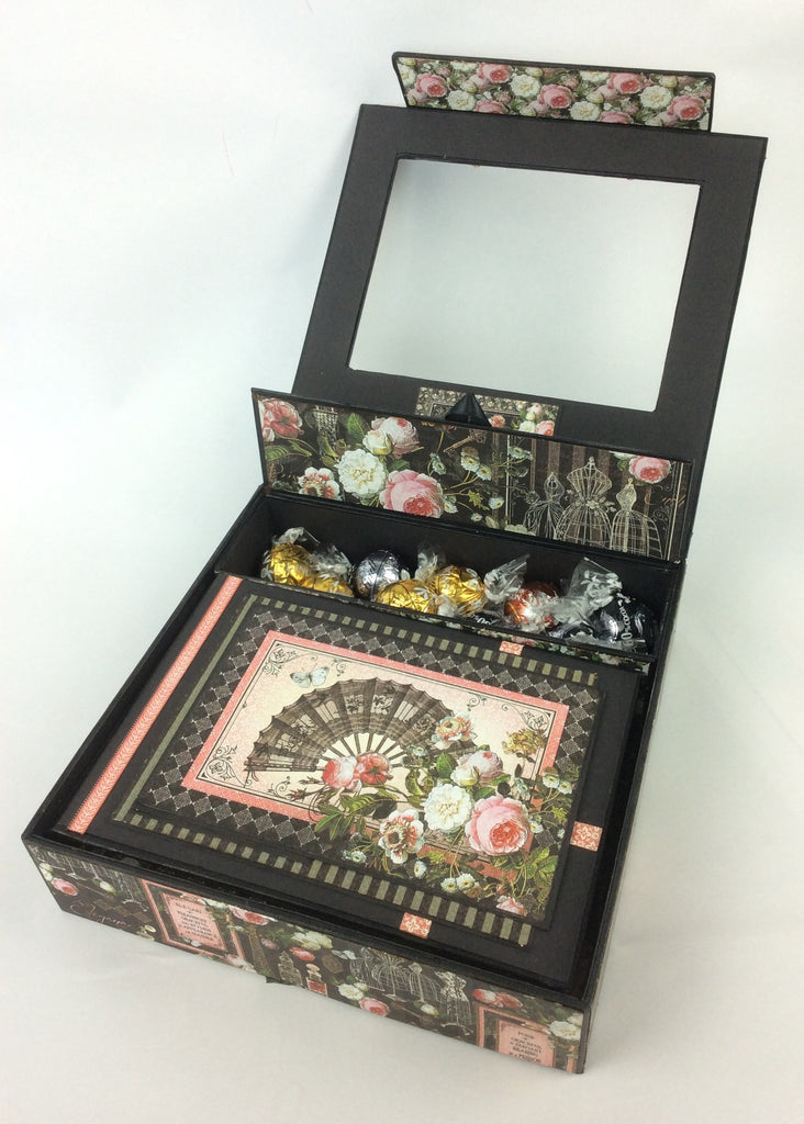 Facebook Live Class No. 18 - The Sherlock Shadow Box and Pocket Album