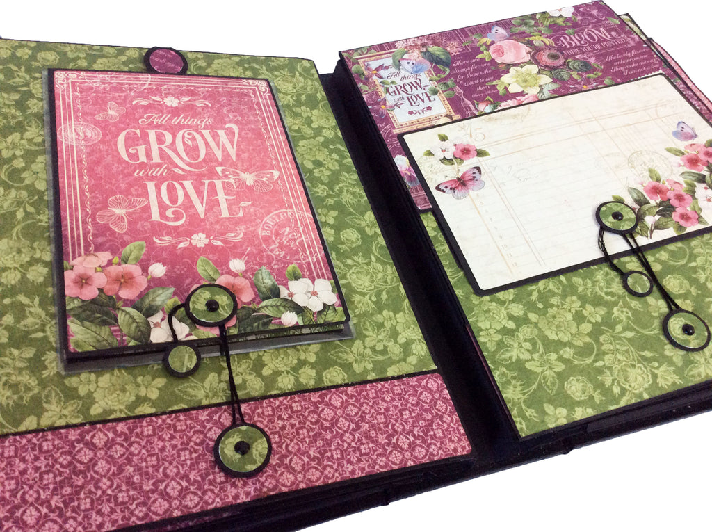 Bloom Large Event Album PDF Tutorial