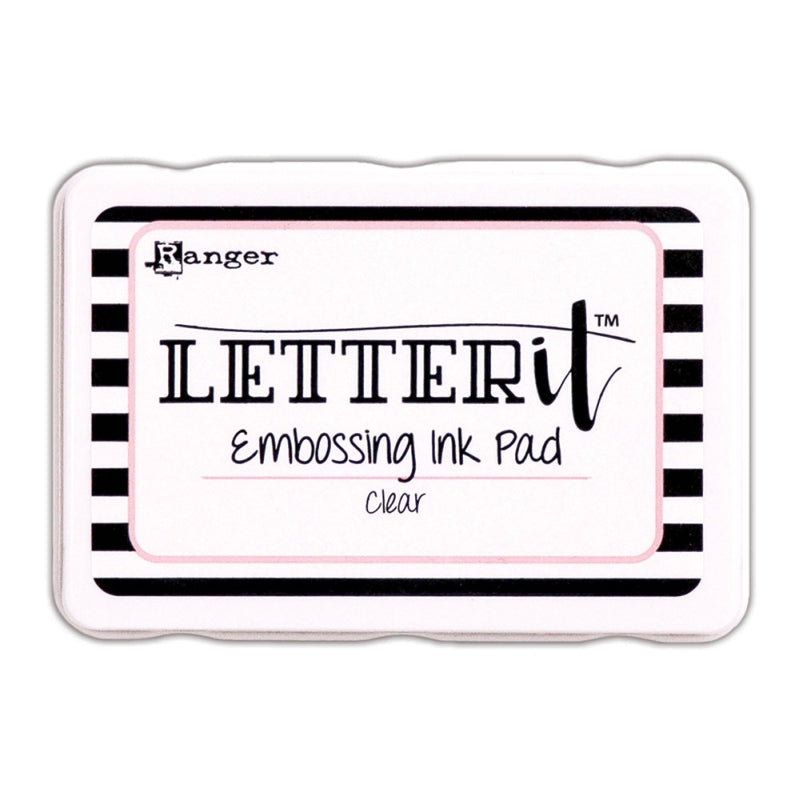 Letter It Embossing Ink Pad - Clear