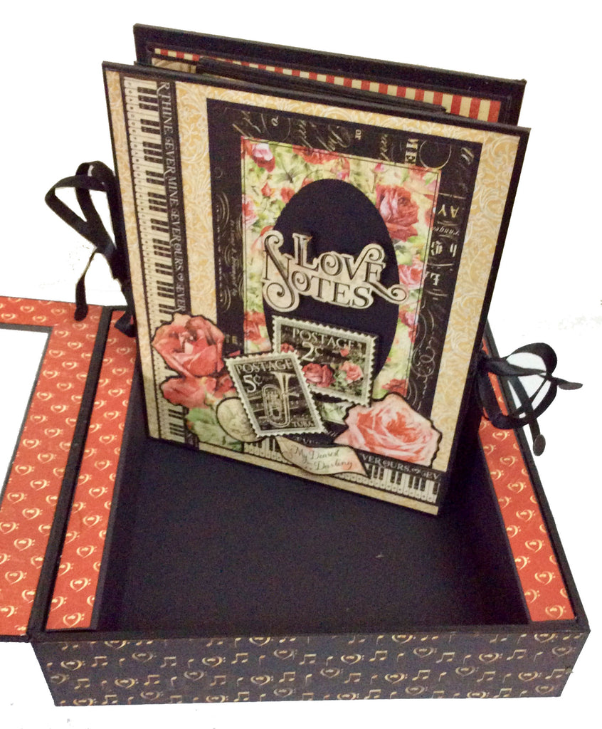 Love Notes Perpetual Album and Shadow Box Kit