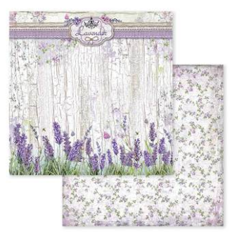 Provence 8 x  Paper Pad by Stamperia
