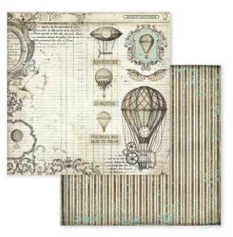 Voyages Fantastiques 12 x 12 by Stamperia