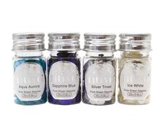 Nuvo Pure Sheen Let It Snow Sequins 4 Pack