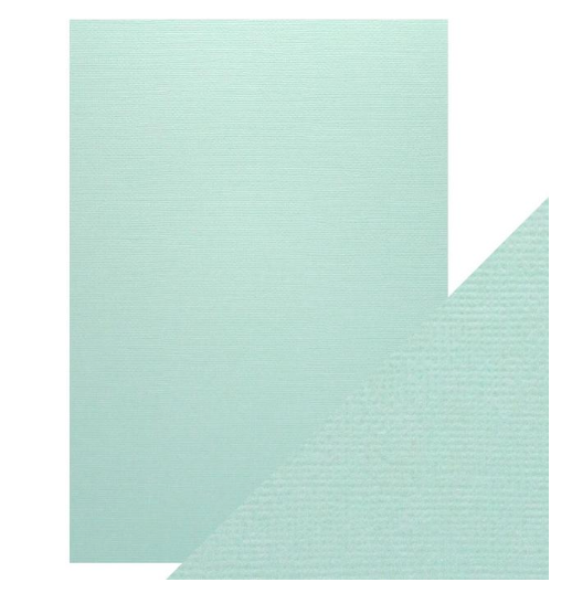 Craft Perfect A4 Texture Weave Card 10pk Arctic Blue
