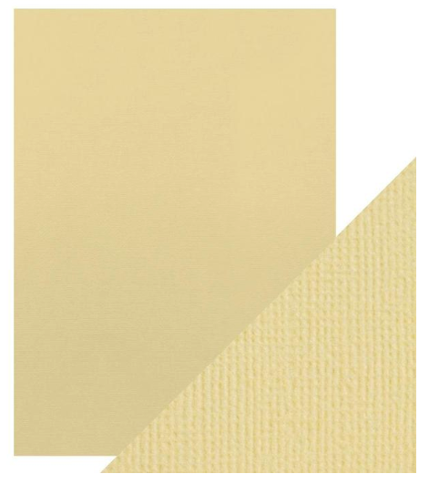Craft Perfect A4 Texture Weave Card 10pk Champagne