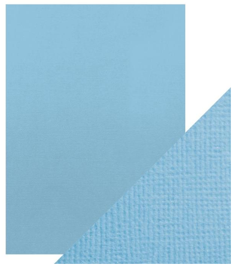 Craft Perfect A4 Texture Weave Card 10pk Cornflower Blue