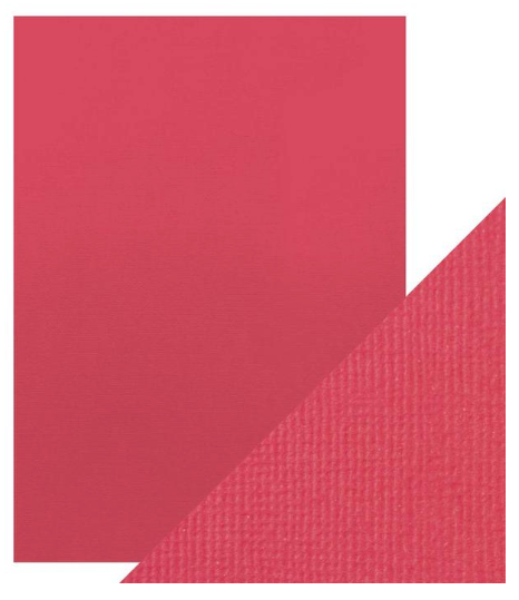 Craft Perfect A4 Texture Weave Card 10pk Fuchsia Pink