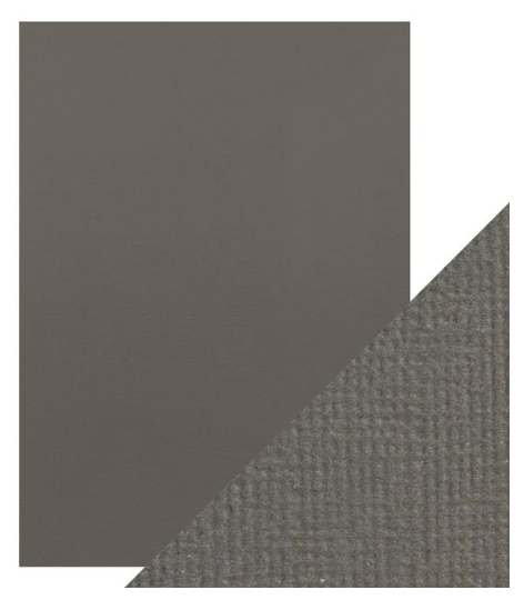 Craft Perfect A4 Texture Weave Card 10pk Pewter Grey