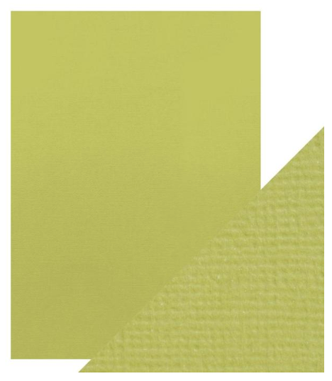 Craft Perfect A4 Texture Weave Card 10pk Pistachio Green